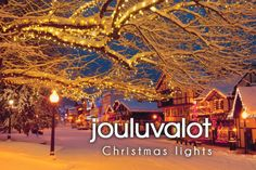 jouluvalot ~ Christmas lights