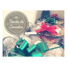Arcones navideños listos!  #canastas #chivasregal #arconnavideño #canastasnavideñas #arcones #canastasnavideñas