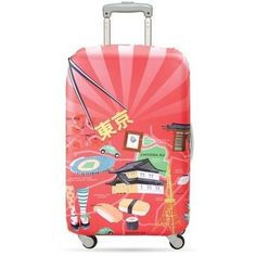 Loqi Water Resistant Luggage Cover - URBAN Tokyo  #karmakiss #UniqueGifts #UnusualGifts #allgiftythings #YouKnowYouWantIt