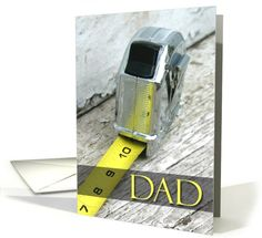Nobody measures up to Dad, Happy Fathers Day card (621857) by Jenny Fenlason