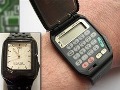 The vast bulk of watches, especially those for men, are just plain dull. Retro Watches, Vintage Watches, Cool Watches, Watches For Men, Casio Vintage Watch, Casio Watch, Golden Watch, Men Accesories, Breitling Watches