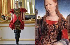 Van der Goes y Alexander Mcqueen - Moda inspirada en el arte - enfemenino