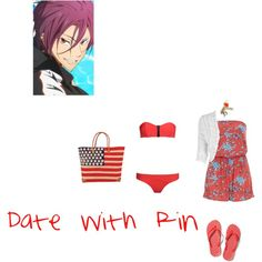 """""""Date with Rin"""" by itzelperaltadelacruz on Polyvore"""