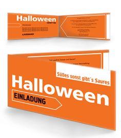 Halloween Party Einladung. Mehr