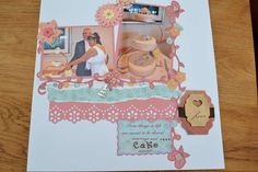 Layout: Cutting the cake