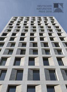 Concrete Facade, Stone Facade, Precast Concrete, Concrete Building, Building Facade, University Architecture, Japan Architecture, Brick Architecture, Residential Architecture