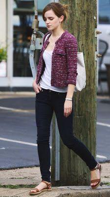 Never Be Afraid I Celebrity Inspiration + Fashion: Emma Watson's Street Style
