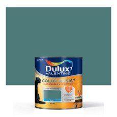 peinture bleu verre dulux valentine color resist 2 5 l d coration int rieure pinterest. Black Bedroom Furniture Sets. Home Design Ideas