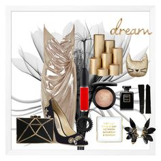 """Dream"" by matildamarys on Polyvore featuring River Island, Jimmy Choo, Lauren Ralph Lauren, Invisibobble, Marni, MAC Cosmetics, Chanel, ferm LIVING, PBteen and Saturday/Sunday"