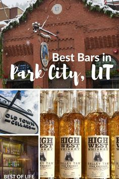 Traveling to Park City is always fun. When looking for the best bars in Park City Utah, we have the travel tips on where to drink so you can find the best bars on any budget. via city Travel Usa, Travel Tips, Travel Hacks, Park City Restaurants, Salt Lake City Utah, How To Get Warm, Free Things To Do, Cool Bars, Make It Yourself