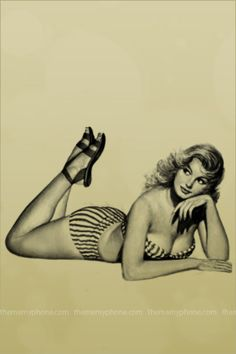 vintage pin up girls | ... 3G / iPod touch Wallpapers  Backgrounds - Misc/Vintage Pin Up Girl