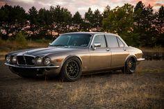This Jaguar Has Been Engineered To Go Sideways Jaguar Xj40, Porsche 356 Outlaw, Jaguar Daimler, Turbo Car, Automotive Engineering, Xjr, Motor Car, Custom Cars, Cars And Motorcycles