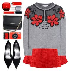 """""""#1003 Jeanne"""" by blueberrylexie ❤ liked on Polyvore featuring Maje, STELLA McCARTNEY, LSA International, NARS Cosmetics, Givenchy, Christian Dior and Essie"""