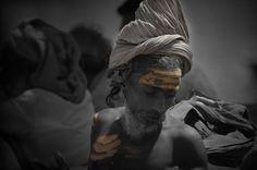 Sadhu at Varanasi, India (2005)