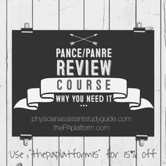 PANCE / PANRE Review Course and Why it will Benefit You! | 15% off! | The PA Platform Pa Life, Things To Think About, Things To Come, Pa School, The Pa, Physician Assistant, I Need To Know, Study Materials