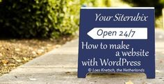 How to make a website with WordPress by using our step by step video training Are you planning to #start a #website? This might be your #onceinalifetime #opportunity