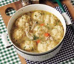 Cooking Pinterest: Classic Chicken and Dumplings Recipe