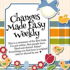 #PositiveThinking #HealthyLiving ☀️ #ChangesMadeEasy Weekly ☀️ #affirmations, #quotes & #articles http://jmcveyc.ht/Paperlily ☀️ Enjoy!