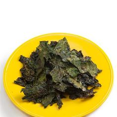HEALTHY SNACK: KALE CHIPS  Whether you make them yourself or buy them, baked kale chips are a scrumptious crunchy snack. One cup of kale with a little olive oil for baking and a dash of salt creates a snack loaded with vitamins A and C.  Calories: 66
