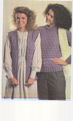 Sofil 11    Knitting Pattern for Ladies jackets, sweaters and Jerkin and Mans Cable and V necked sweaters in chunky knit.    In Ladies sizes