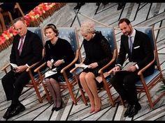 Nobel Peace Prize Award Ceremony 2016 at Oslo City Hall