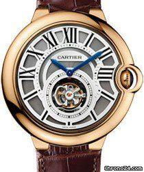 Cartier Ballon Bleu Tourbillon Volant price on request #Cartier #watch #watches #chronograph Pink gold