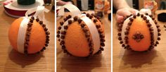 Smell the holiday decorations: DIY orange and clove pomanders