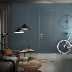 Room Doors And Wall Design Tone On Tone: The Uniform Look Looks Simply Noble !