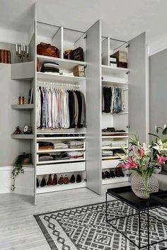 Wardrobe Storage, Wardrobe Closet, Closet Bedroom, Home Bedroom, Clothing Storage, Closet Storage, Storage Room, Wardrobe Doors, Closet Space