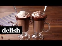 Best Hot Chocolate Float Recipe-How To Make Hot Chocolate Float—Delish.com