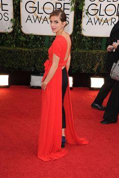 Emma Watson at the 2014 Golden Globes: