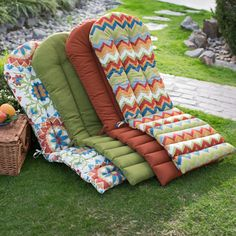 Bullnose Adirondack Outdoor Chair Cushion | House Stuff | Pinterest | Outdoor  Chairs, Cushions And Outdoor Chair Cushions