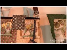 Como Fazer : Bolsa em Tecido Estampado - Passo a Passo - YouTube