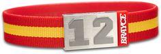 ¡La bandera español para la muñeca! Brazalete con colores nacionales #euro2016 #vamos ⚽️