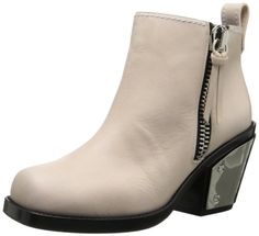 Giuseppe Zanotti Women's Plated Heel Motorcycle Boot,Cipria,6.5 B US - $808.25 - 39% off.