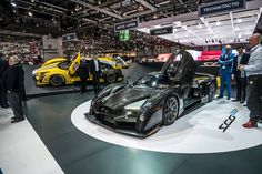 Scuderia Cameron Glickenhaus SCG 003S Exotic Sports Cars, Exotic Cars, Car Ins, Super Cars, Around The Worlds, Vehicles, Vehicle