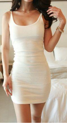 Simple Design Sexy Spaghetti Strap Summer Dresses For Women Summer Dresses Online, Formal Dresses Online, Summer Dresses For Women, Backless Mini Dress, Bodycon Dress, Simple White Dress, Look 2015, Sammy Dress, Cheap Dresses