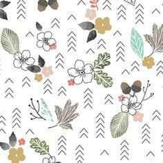 Hawthorne Threads - Autumn Fawn - Forest Glade in Harvest