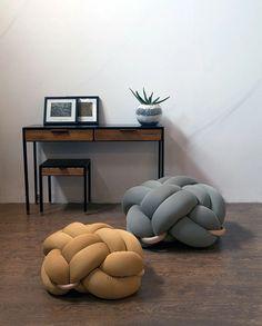 Knot Cushions & Stools by Knots Studio | Prodeez