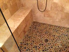 Master Bath - Shower Floor Mosaic