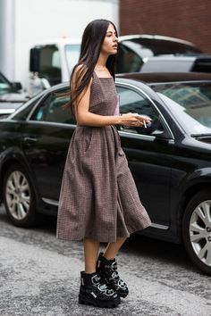statement shoes. #GildaAmbrosio in NYC.