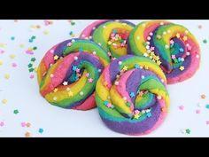 UNICORN RAINBOW POOP COOKIES - NERDY NUMMIES - YouTube