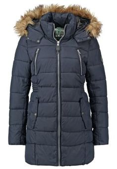 ONLY ONLLIME - Winter coat - dark navy for £60.00 (12/11/15) with free delivery at Zalando