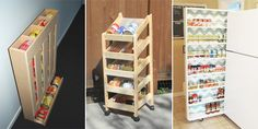 We've found some great ways to keep all those canned goods organized!