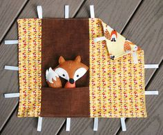 Fox & Blankie Play Set #sewing tutorial by Abby Glassenberg of While She Naps
