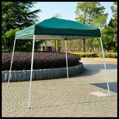 Pop Up Canopy Shelter Outdoor Tent 8x8 Patio Backyard Shade Green Square Steel US $119.27#PopUpCanopyShelter
