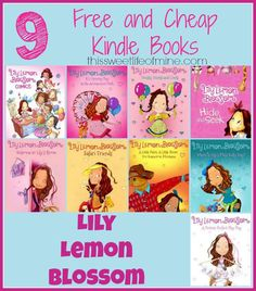 9 FREE and Cheap Kindle eBooks for Kids: Lily Lemon Blossom {Aug. 15} | thissweetlifeofmine.com