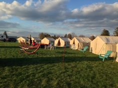 Glamping out at the Indianapolis Motor Speedway
