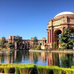 Palace of Fine Arts | The Palace was designed by renowned Berkeley architectBernard Maybeckfor the 1915 Panama Pacific International Exposition. After a major restoration in the 1960s, the building is now a theater venue.