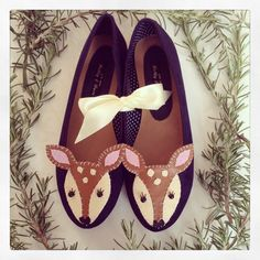 Hand-Stitched Shoes by 'Love From Hetty and Dave'